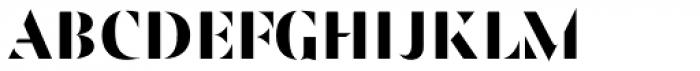 JHA Zucker 1 Font UPPERCASE
