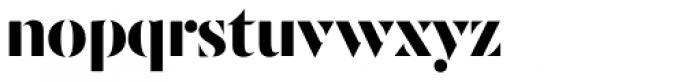 JHA Zucker 1 Font LOWERCASE