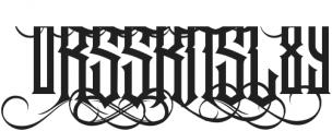 Jibriel Upcase Alt1 ttf (400) Font OTHER CHARS