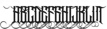 Jibriel Upcase Alt1 ttf (400) Font UPPERCASE