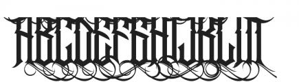 Jibriel Upcase Alt1 ttf (400) Font LOWERCASE