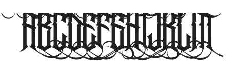 Jibriel Upcase Alt2 ttf (400) Font LOWERCASE