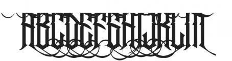 Jibriel Upcase Alt4 ttf (400) Font UPPERCASE
