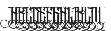 Jibriel Upcase Alt5 Jibriel Upcase Alt5 ttf (400) Font UPPERCASE