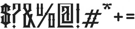 Jibriel otf (400) Font OTHER CHARS