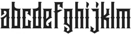 Jibriel otf (400) Font LOWERCASE