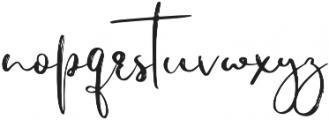 Jiguliny otf (400) Font LOWERCASE