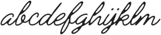 Jimmy Script Light otf (300) Font LOWERCASE