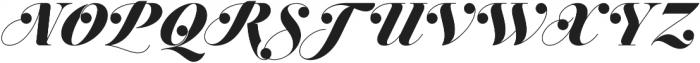 Jitzu Swash otf (900) Font UPPERCASE