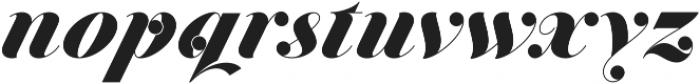 Jitzu Swash otf (900) Font LOWERCASE