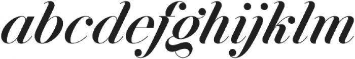 Jitzu otf (500) Font LOWERCASE