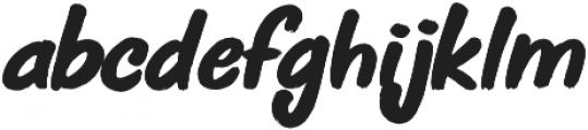 Jive Talk ttf (400) Font LOWERCASE