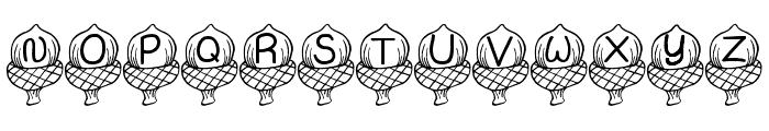 JI Acorn Font LOWERCASE