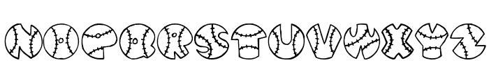 JI Baseball Font LOWERCASE