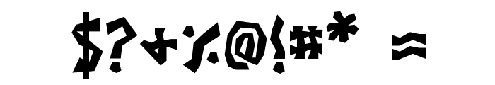 JI Fajita Font OTHER CHARS