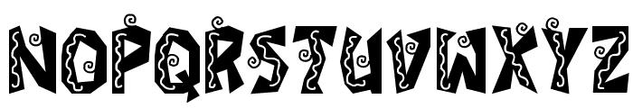 JI Fajita Font UPPERCASE