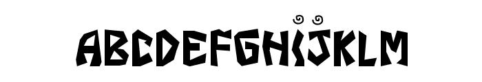 JI Fajita Font LOWERCASE