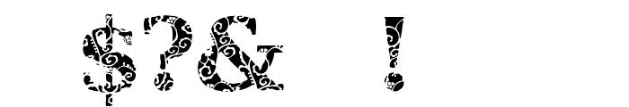 JI Hidden Vines Font OTHER CHARS