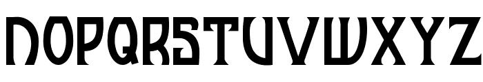 JI Manhattan Font UPPERCASE