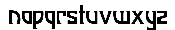 JI Manhattan Font LOWERCASE