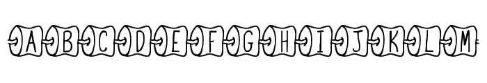 JI Marshmallow Roast Font UPPERCASE