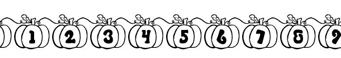 JI Pumpkins Font OTHER CHARS