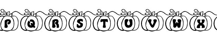 JI Pumpkins Font LOWERCASE