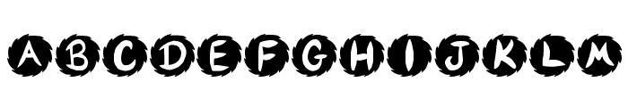 JI Sawblade Font LOWERCASE