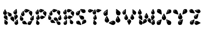 JI Seeds Font UPPERCASE