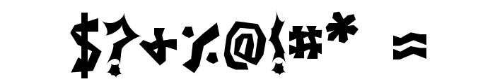 JI Stickerbush Caps Font OTHER CHARS