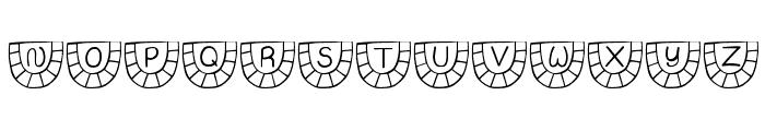 JI Watermelon Font UPPERCASE
