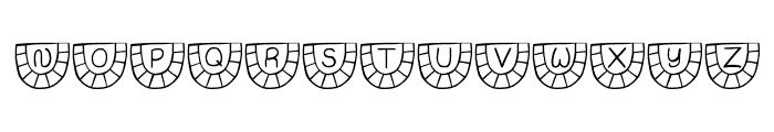 JI Watermelon Font LOWERCASE