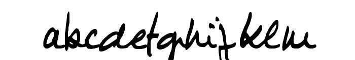 JIMMY1 Font LOWERCASE
