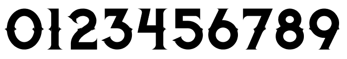 Jibril Regular Font OTHER CHARS