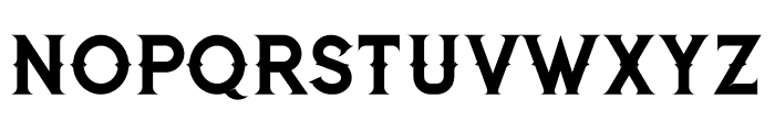 Jibril Regular Font UPPERCASE