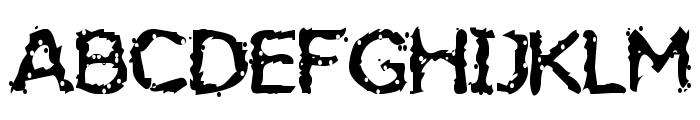 Jiggery Pokery Font UPPERCASE