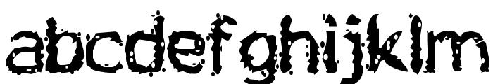 Jiggery Pokery Font LOWERCASE