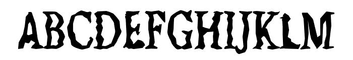 Jilted Medium Font UPPERCASE