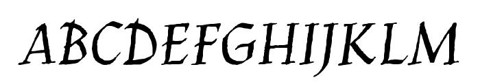 Jim Nightshade Font UPPERCASE