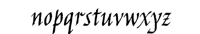 Jim Nightshade Font LOWERCASE
