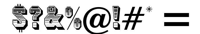 JimCrowOpti Font OTHER CHARS