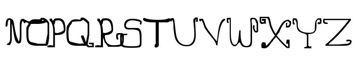 Jingle Hamsters Font UPPERCASE