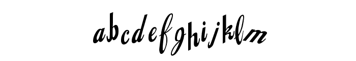 Jingopop Font LOWERCASE