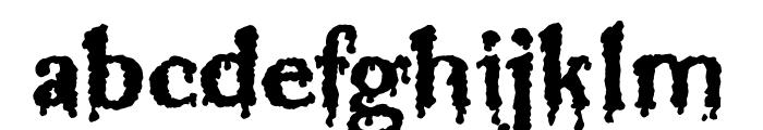 Jinkeez Font LOWERCASE
