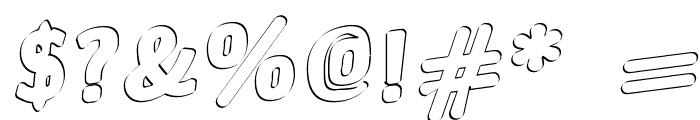 Jinx Font OTHER CHARS