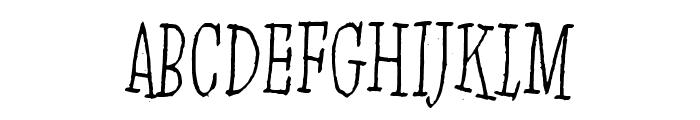Jinzingoer Font UPPERCASE