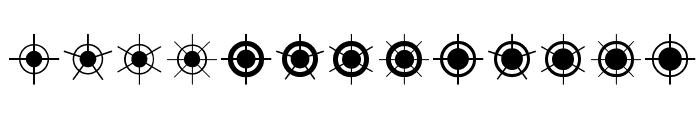 Jiraijirai Font UPPERCASE