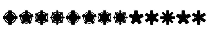 Jiraijirai Font LOWERCASE