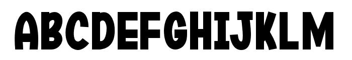 Jirogi Font UPPERCASE