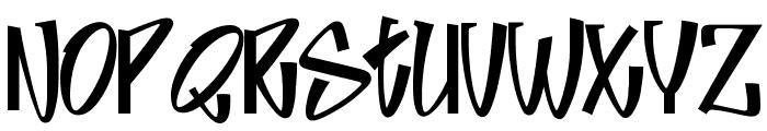 Jive Font UPPERCASE
